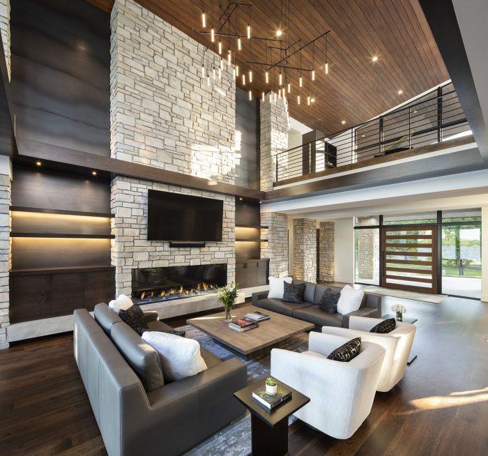 Custom Lake Minnetonka Home Interior by Nor-Son